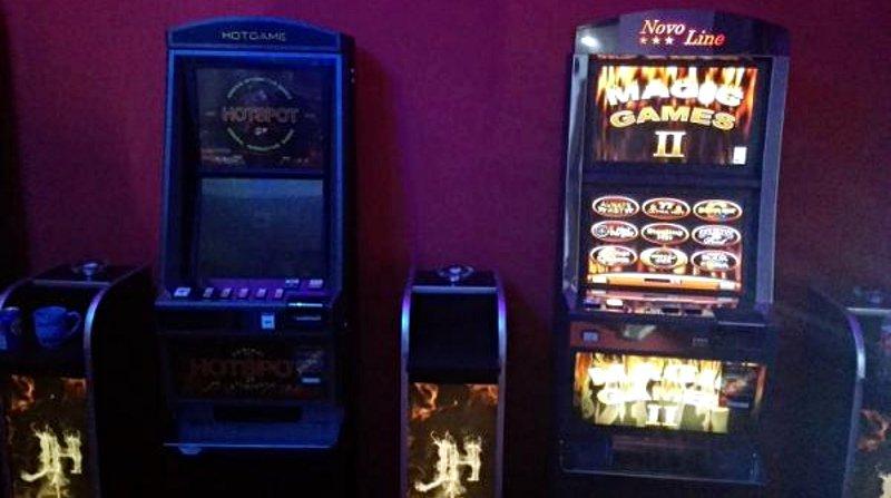 Nielegalne automaty do gier zabezpieczone