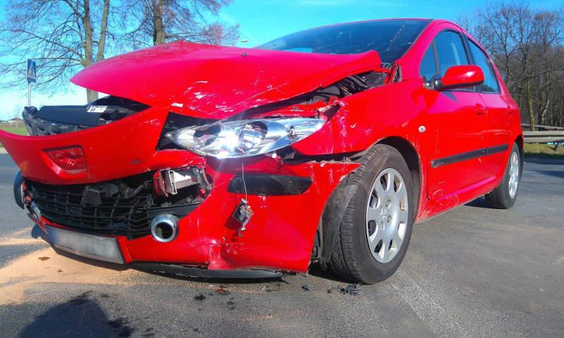 Wypadek drogowy w Nowej Wsi