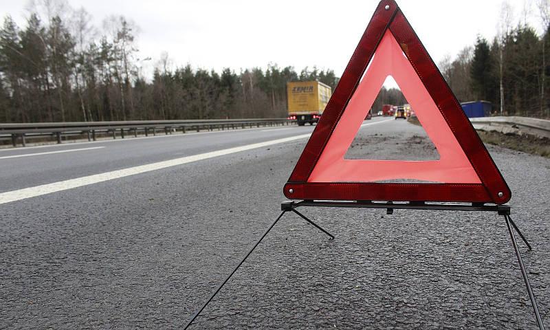 Duszniki: Pijany motocyklista wjechał w znak drogowy