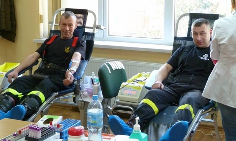 Szamotuły. Strażacy zapraszają na zbiórkę krwi