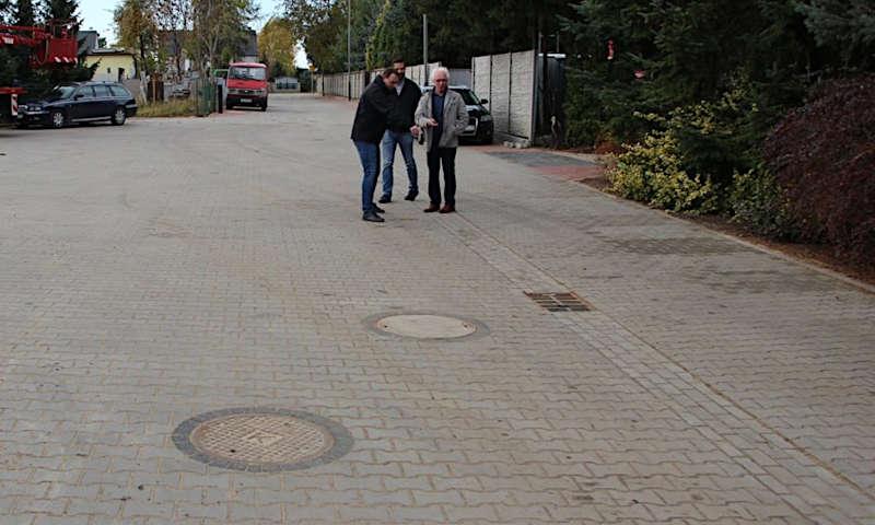 Zakończyła się przebudowa ulicy Rzemieślniczej w Szamotułach