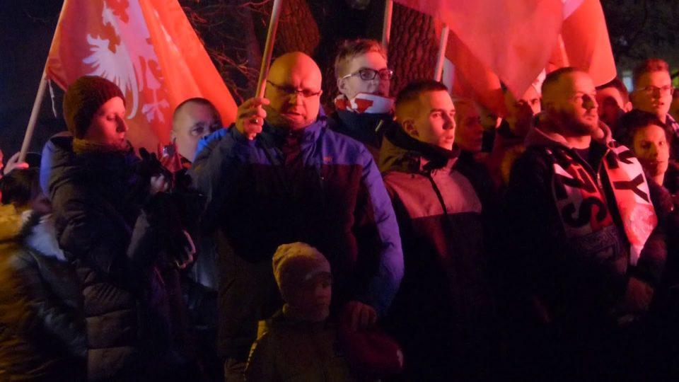 Marsz powstańczy w Szamotułach