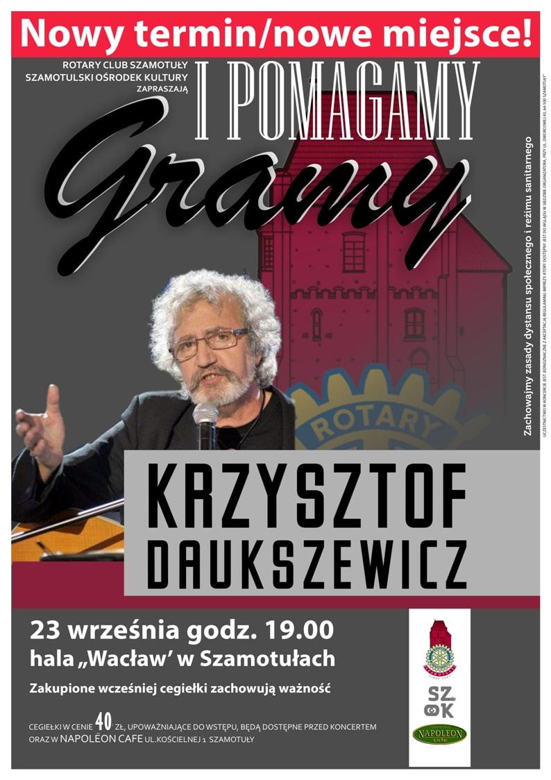 Krzysztof Daukszewicz w Hali Wacław