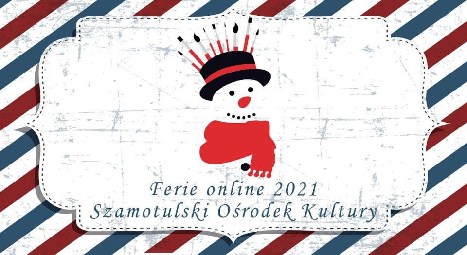 Ferie 2021 z Szamotulskim Ośrodkiem Kultury [PROGRAM]