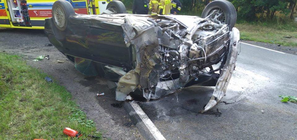 Wypadek w Lipnicy: kierowca BMW zatrzymany, był pod wpływem alkoholu