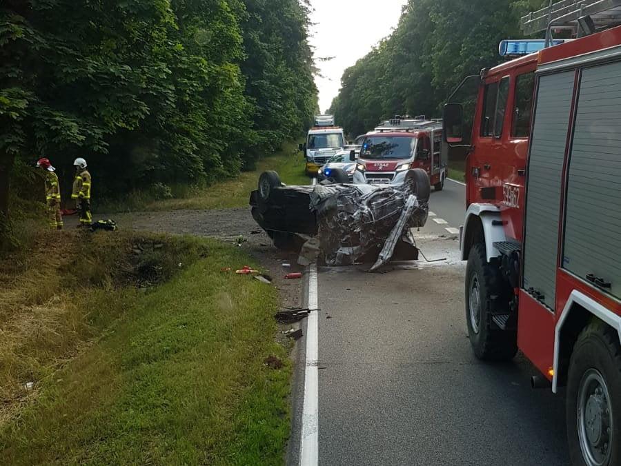 Powiat szamotulski: kolejne wypadki, poszkodowane osoby i pijani kierowcy