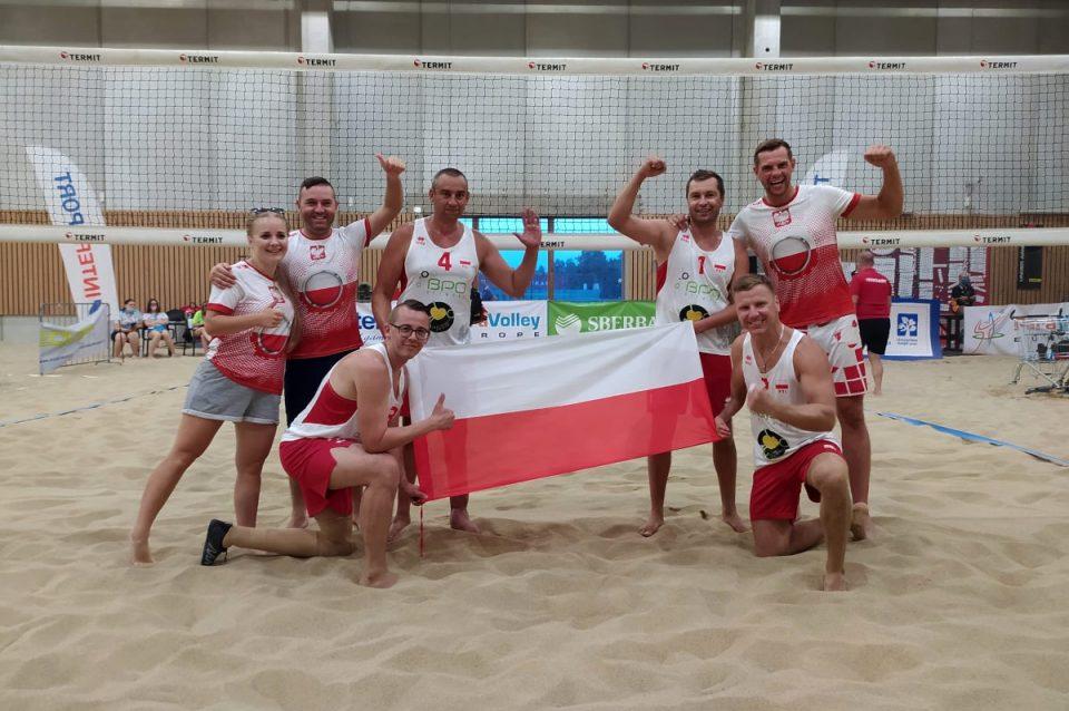 Złoty medal siatkarzy plażowych w Turnieju Międzynarodowym w Słowenii